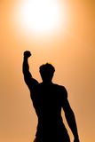 Man power Royalty Free Stock Photography