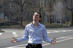 Man in praise 26 Royalty Free Stock Photos