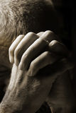 Man Praying Stock Photos