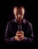 A man praying. Stock Images