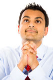 Man praying Stock Images