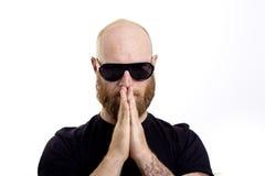 Man praying Royalty Free Stock Image