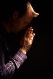 A man praying. Stock Photography