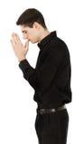 Man praying Royalty Free Stock Photo