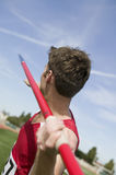 Man Preparing To Throw Javelin Royalty Free Stock Photos