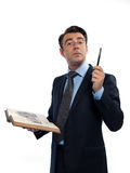 Man professsor teacher teaching Stock Photo