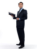 Man professsor teacher teaching reading a book Royalty Free Stock Photography