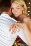 Man Proposing To Woman Royalty Free Stock Photography