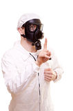 Man in protective wear Royalty Free Stock Image
