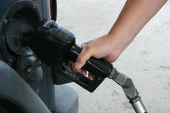 Man Pumping Gas Stock Photos