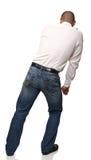 Man push position Stock Photography