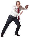 Man in push position Royalty Free Stock Photo