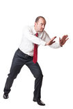 Man in push position Stock Images