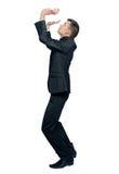 Man pushing up Royalty Free Stock Image