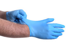 Latex Gloves Royalty Free Stock Image