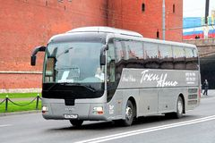 MAN R07 Lion's Coach Royalty Free Stock Photography