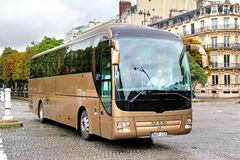 MAN R08 Lion's Coach Royalty Free Stock Image