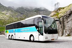 MAN R08 Lion's Top Coach Stock Photography