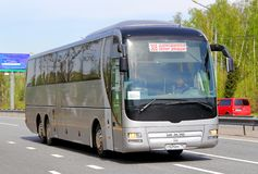 MAN R08 Lion's Top Coach Stock Photo
