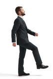 Man raising one leg Royalty Free Stock Images