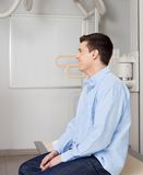 Man In X-ray Room Stock Images