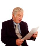 Man Reading Royalty Free Stock Images