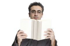 Man reading Royalty Free Stock Photos