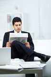 Man reading Stock Images
