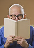 Man Reading Book Royalty Free Stock Image