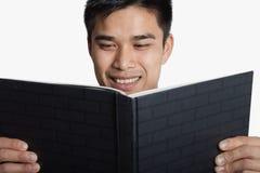 Man reading book Royalty Free Stock Photo