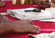 Man reads the Torah Royalty Free Stock Photos