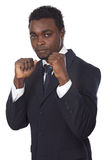 Man ready to fight Royalty Free Stock Photography