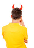 Man Rear View Stock Photography