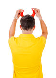 Man Rear View Royalty Free Stock Images