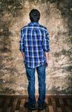 Man Rear View Stock Photo