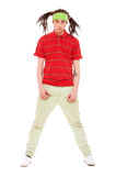 Man in red t-shirt Royalty Free Stock Image