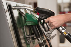 Refueling Royalty Free Stock Photo
