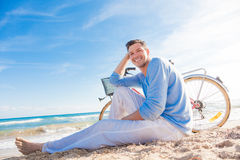 Man relax Stock Image