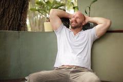 Man relaxing Stock Photos