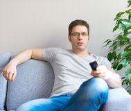 Man relaxing. Royalty Free Stock Image