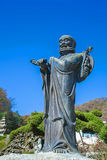 Statue of priest Royalty Free Stock Photos