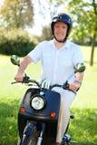 Man riding Stock Images
