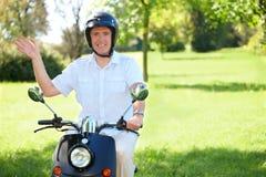 Man riding Stock Image
