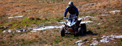 Atv panorama Stock Image