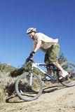 Man Riding Bicycle Royalty Free Stock Photo