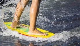 Man riding  water Stock Photos
