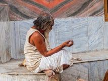 Man in Rishikesh Stock Photos