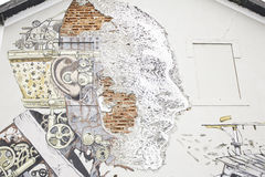 Man robot Stock Image