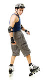 Man in roller blades Royalty Free Stock Photography