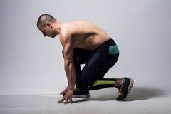 Man runner jogger running   Stock Images